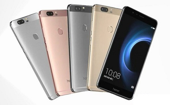 Huawei Honor 8 Featuring 2.5D Curved Glass, 12 MP Dual Camera And USB Type-C