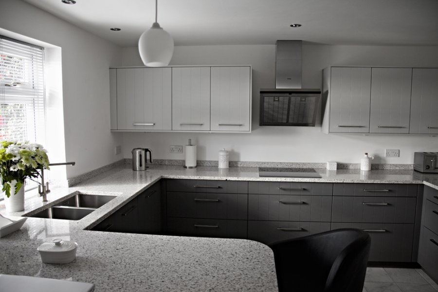 Grey Kitchen Worktops Silestone Vs Granite